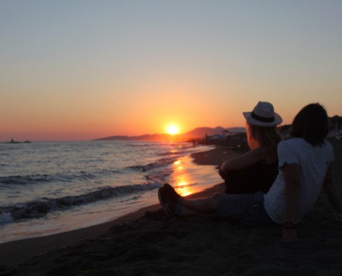 kitesurfen, montenegro, kiteschule, kiteriders, kitesurfing, kiteboarding, sunset, ulcinj